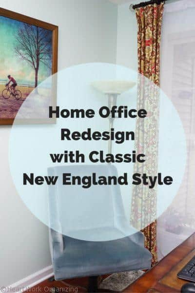 Home Office Redesign with Classic New England Style