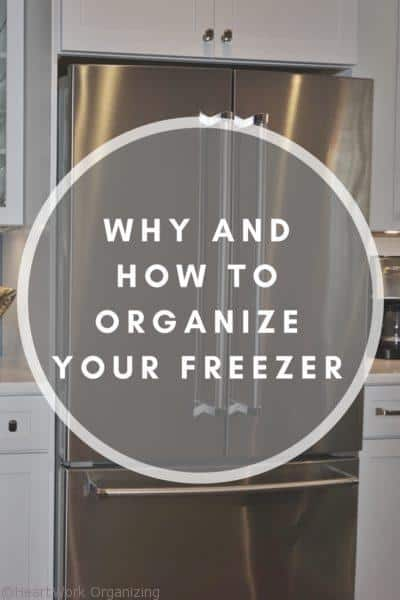 Why and How to Organize your Freezer
