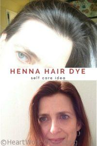 Henna Hair Dye to cover grays