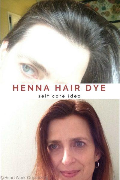 Henna Hair Dye to cover grays