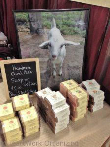 goat milk soap from real goats