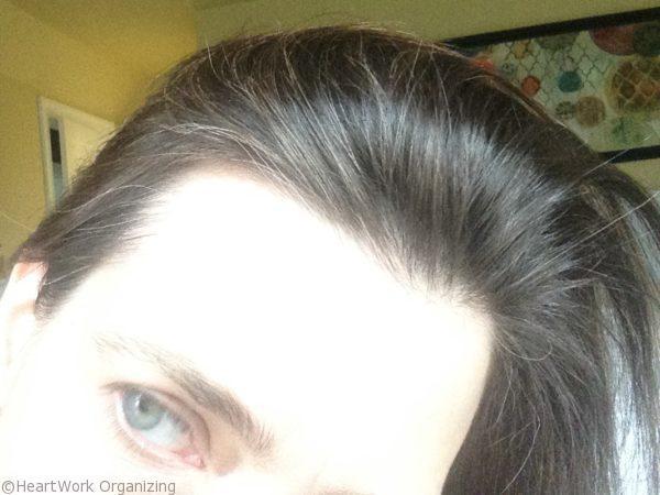 henna hair dye - self care idea (5)- before