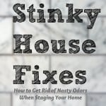 Stinky House:  How to Get Rid of Nasty Odors When Staging