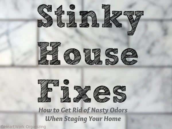How to remove odors in your home when staging to sell