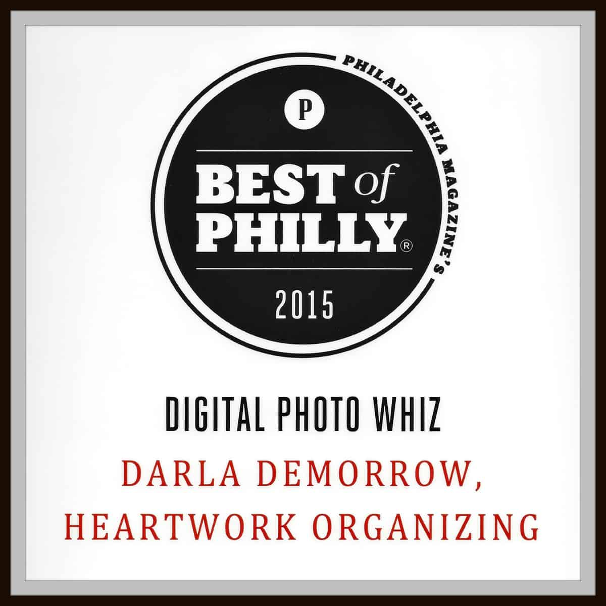 Best of Philly 2015 Photo Organizer