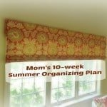 Mom's 10-Week Summer Organizing Plan