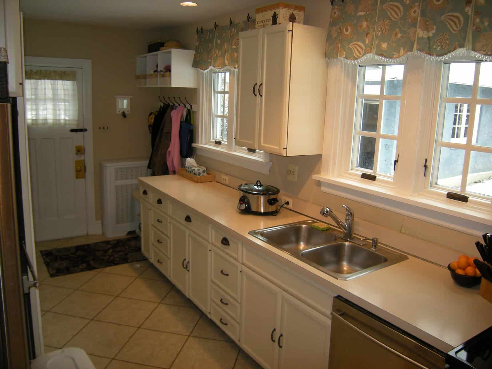 Kitchen remodel what would you do heartwork organizing for Galley style kitchen remodel ideas