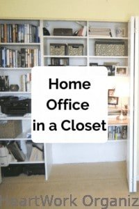 Read more about the article Home Office In a Closet