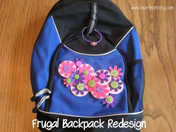 backpack makeover