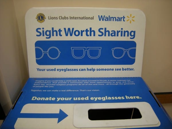 where to recycle eyeglasses