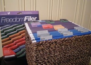 Filing Freedom and Paper organizing using FreedomFiler