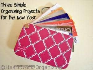 Read more about the article Three Organizing Projects to Jump Start Your Year