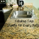 Fabulous Faux Granite for Every Budget