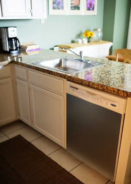 Kitchen makeover with EZ Instant Granite
