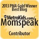 blog contributor for MetroKids magazine