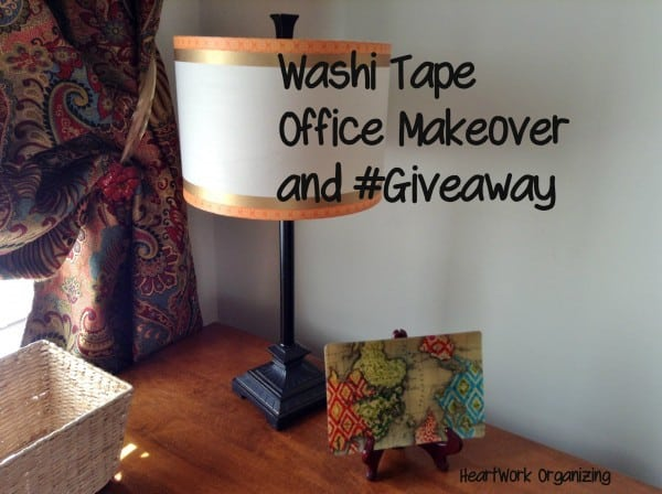 Office Makeover and Washi Tape Giveaway