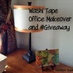 A Refreshed Home Office, with Washi Tape and #Giveaway