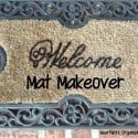 Welcome Mat Mini-Makeover