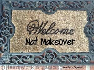 Read more about the article Welcome Mat Mini-Makeover