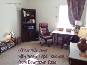 Read more about the article A Refreshed Home Office, with Washi Tape and #Giveaway