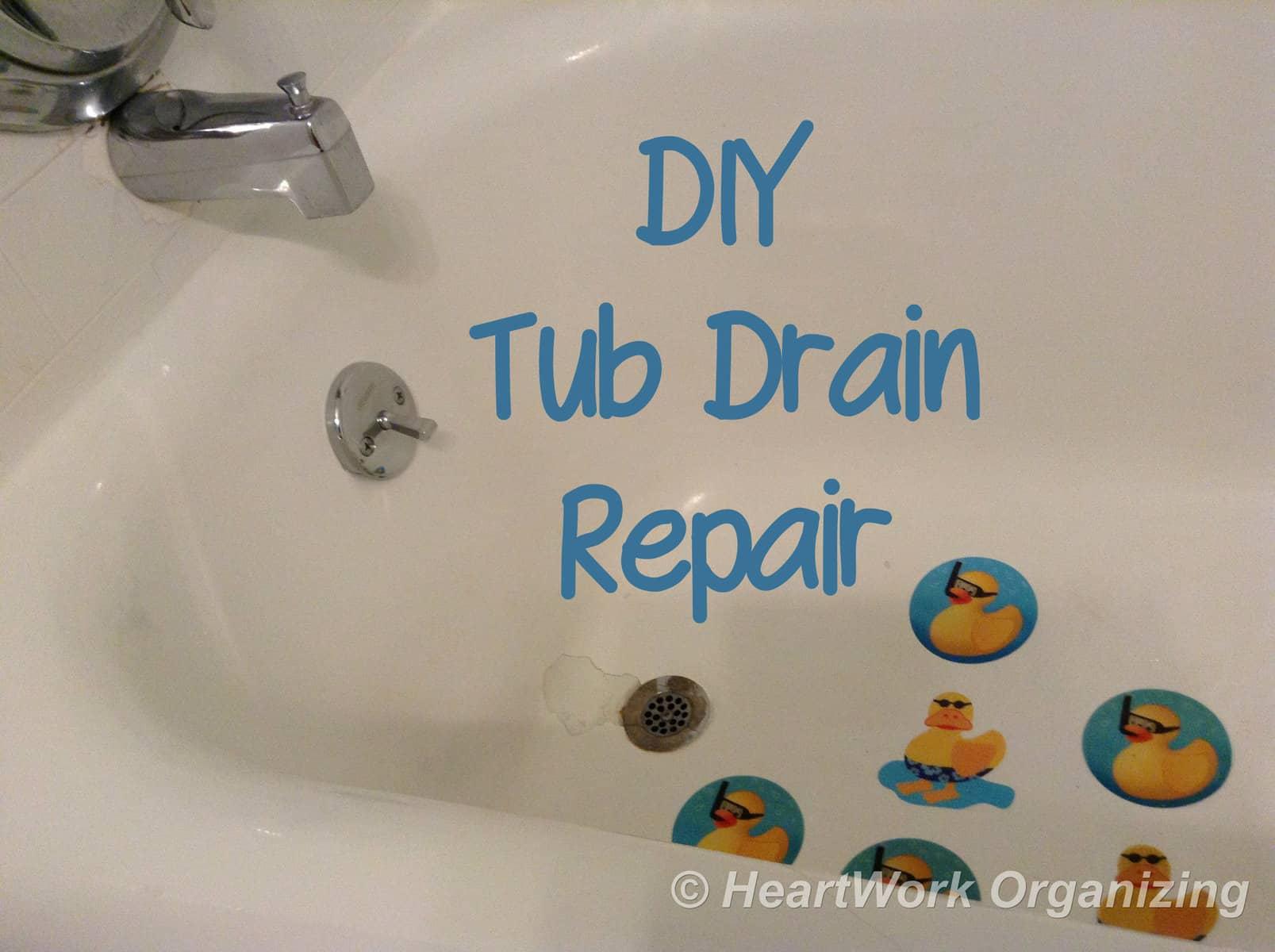 Beau DIY Tub Drain Repair