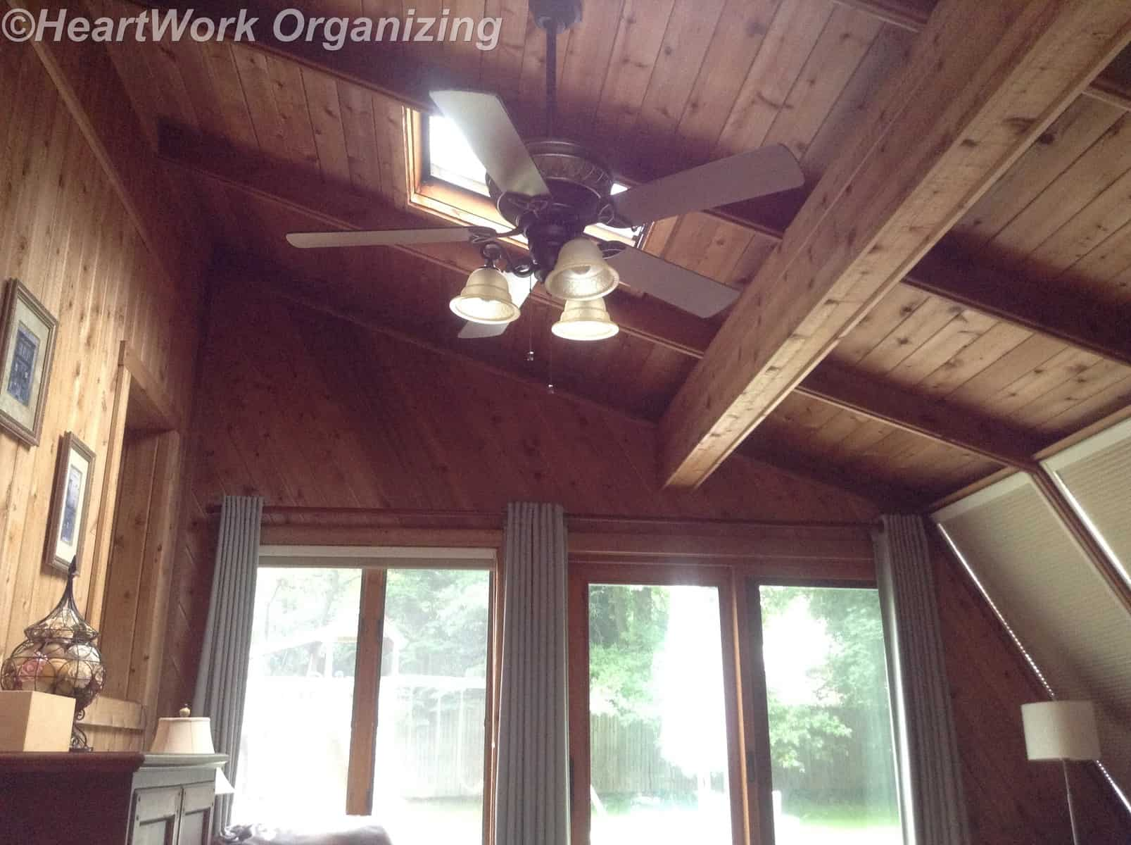 Sunroom Lighting Ideas HeartWork Organizing Tips for Organizing