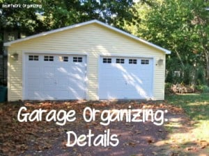 Read more about the article It's Perfect Weather to Organize the Garage
