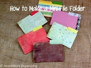 Read more about the article Mini-Folder Tutorial to Hold Business Cards