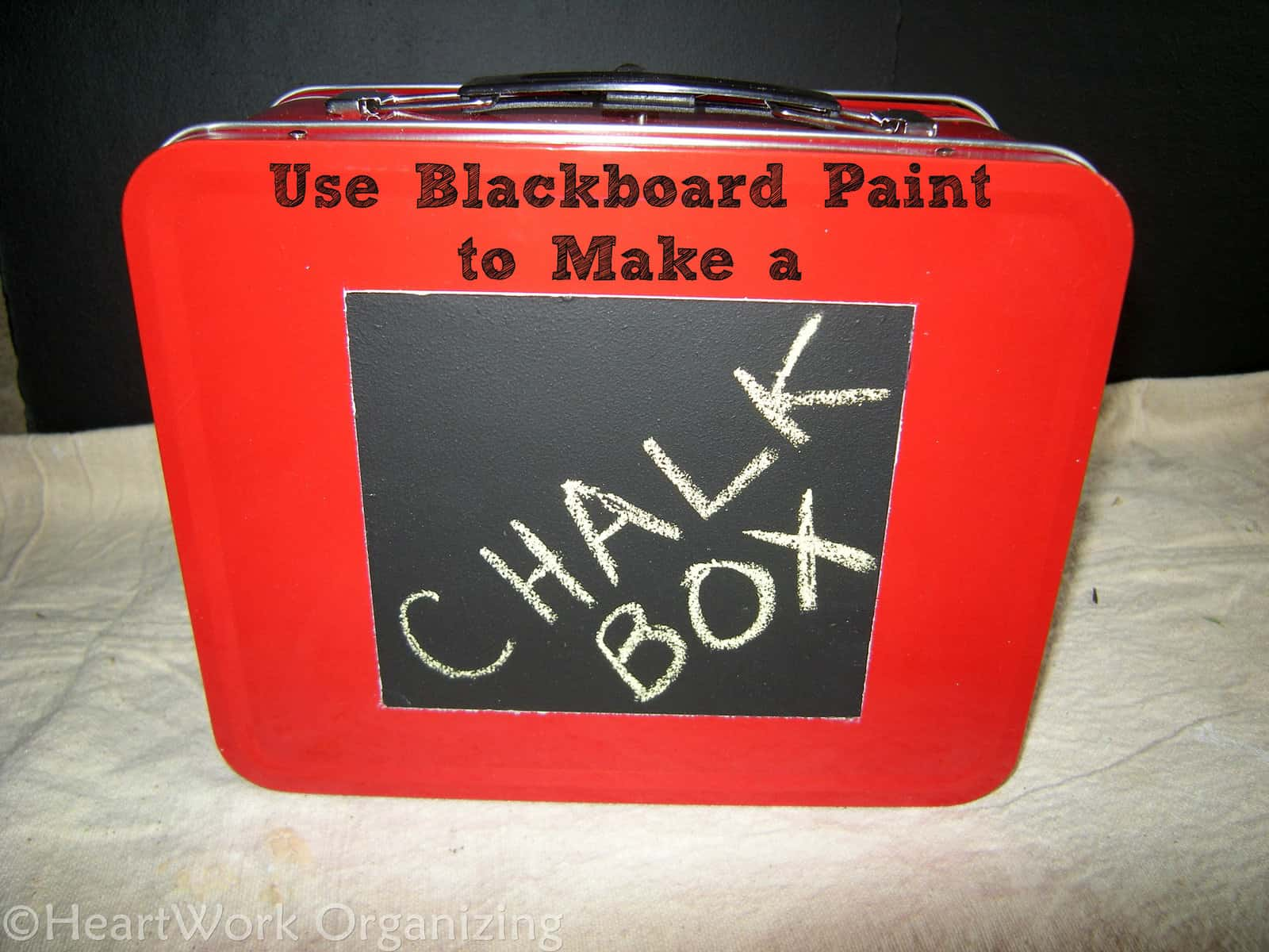 Blackboard Paint, Storage Box