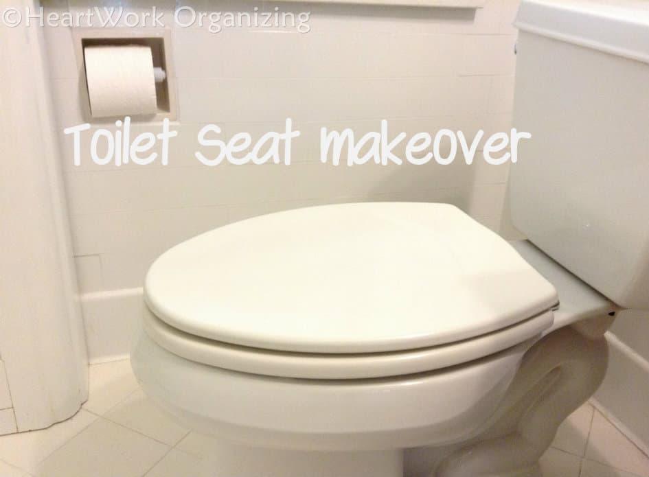 Peachy Toilet Seat Makeover Ibusinesslaw Wood Chair Design Ideas Ibusinesslaworg