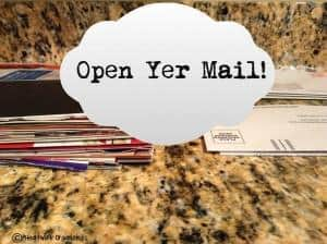 Read more about the article Open Yer Mail {Organizing Mail}