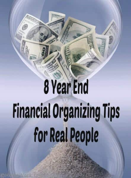 Financial Organizing for New Year