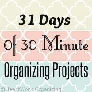 New Years organizing projects