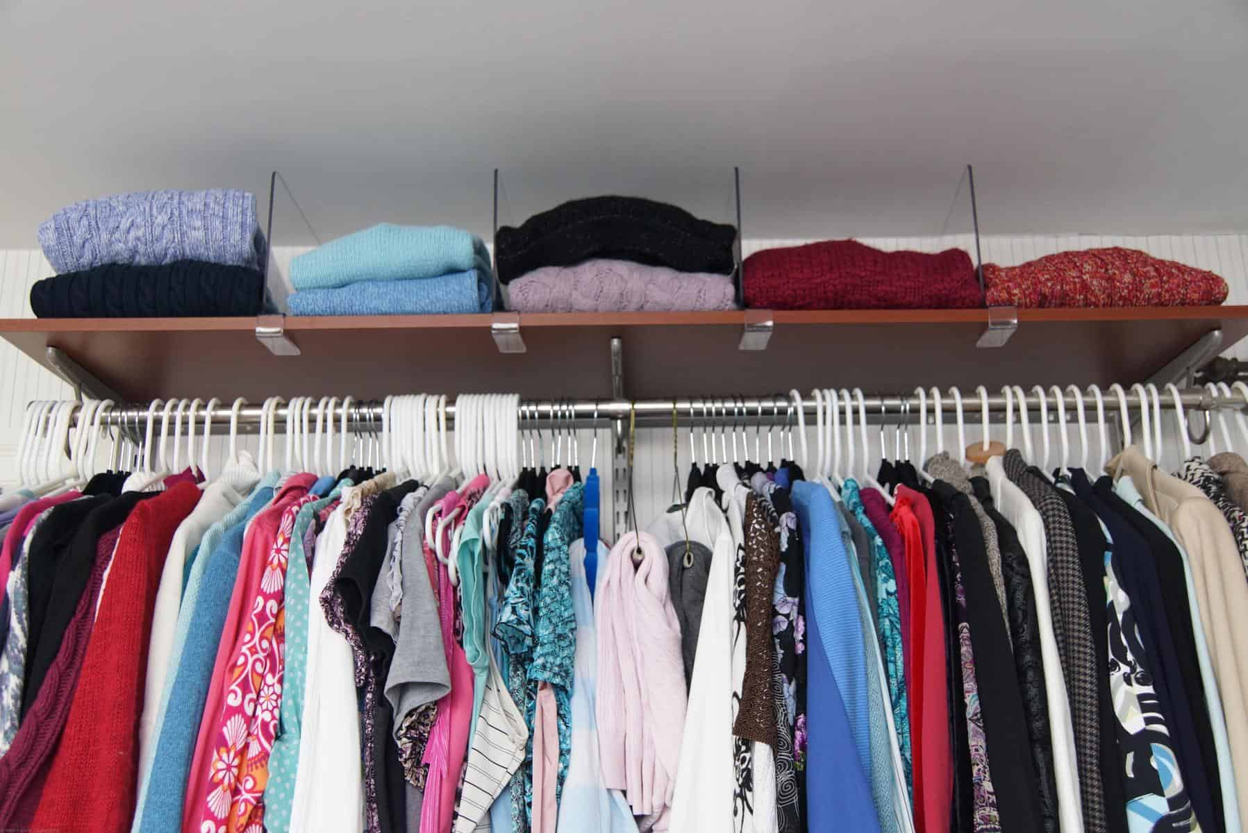 Superb Organizing Sweaters In The Closet