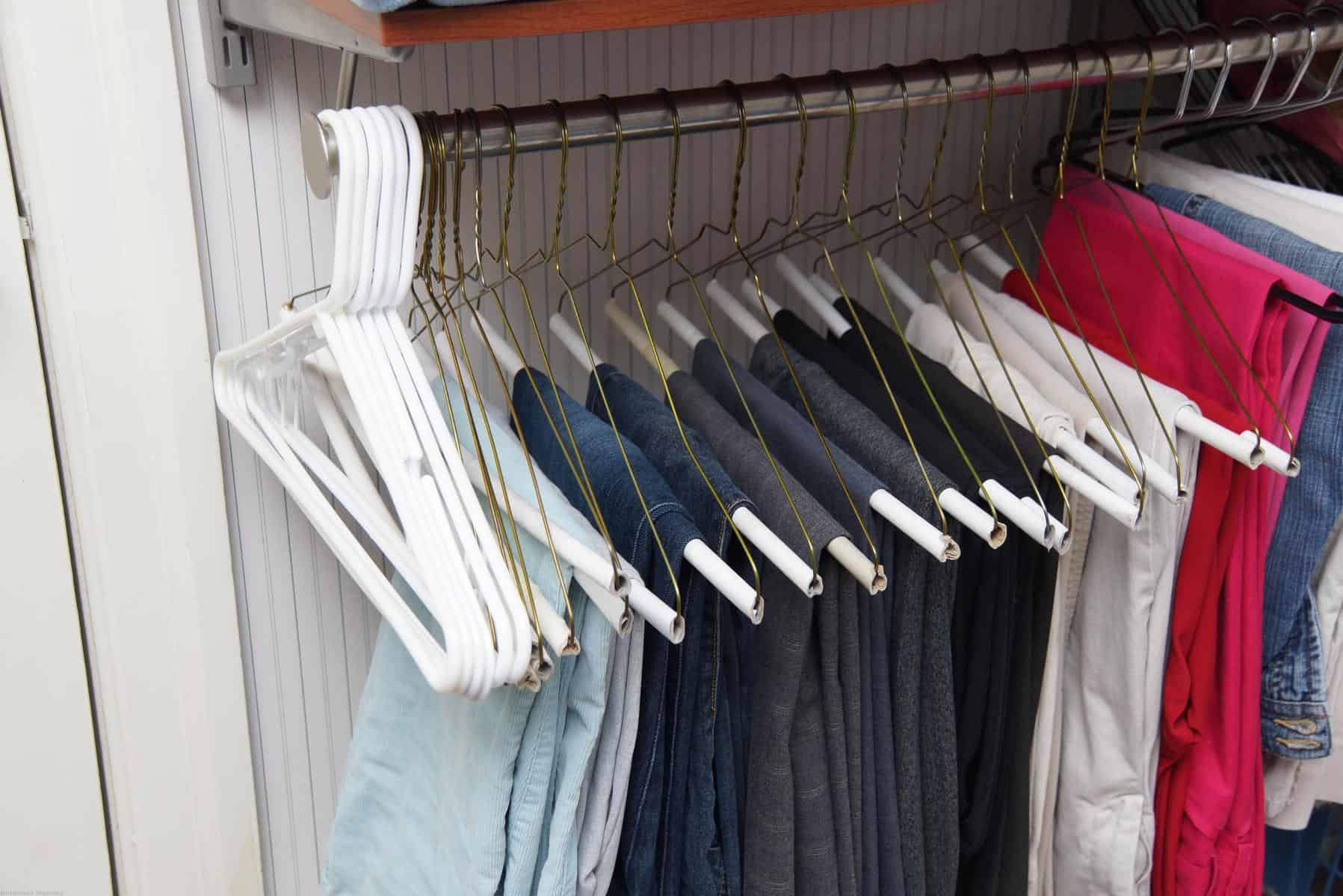 Pants Hangers When Organizing In Closet