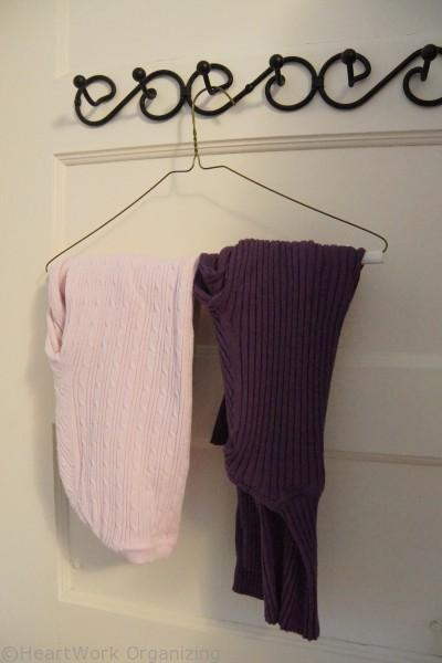 organizing sweaters the the closet