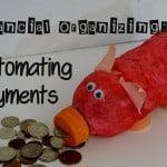 Financial Organizing- Automate Payments