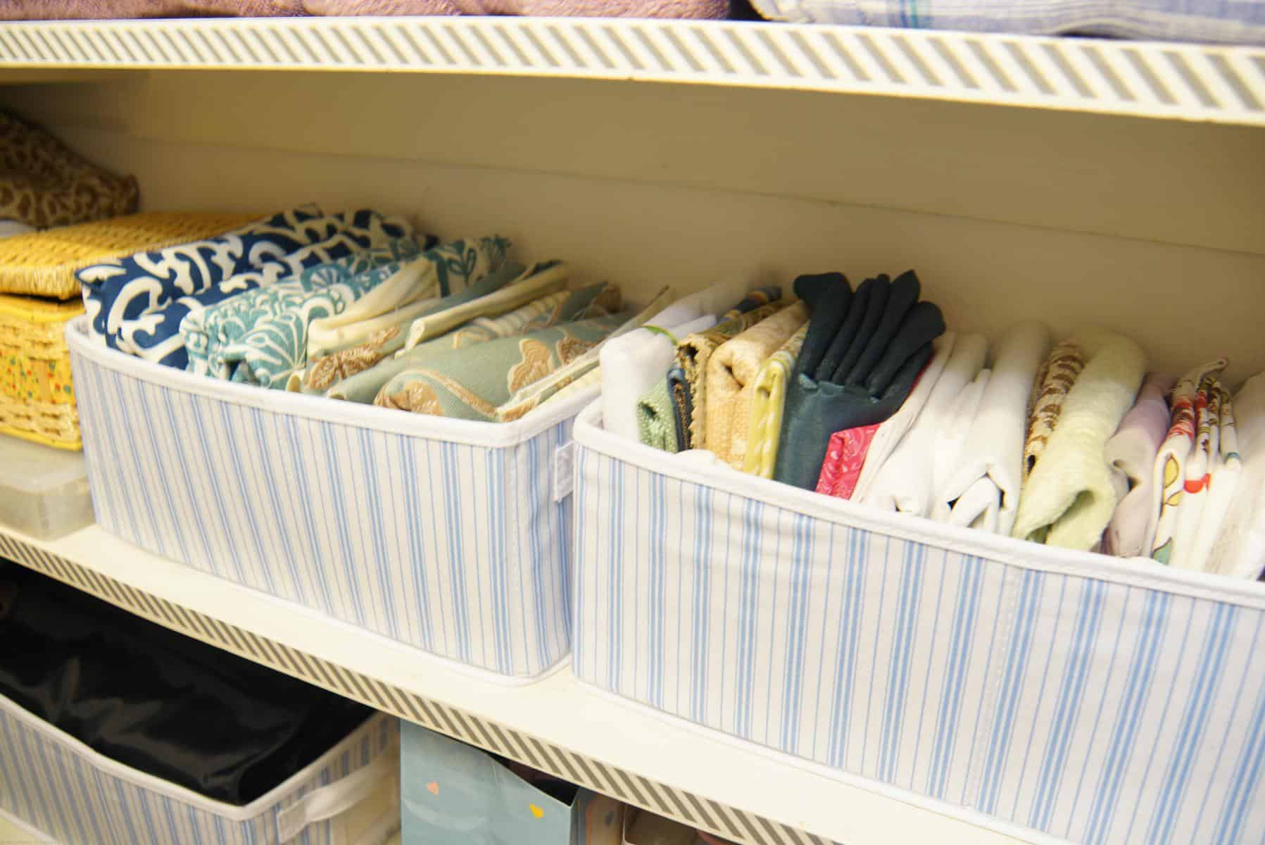 Organizing The Linen Closet Heartwork Organizing Tips
