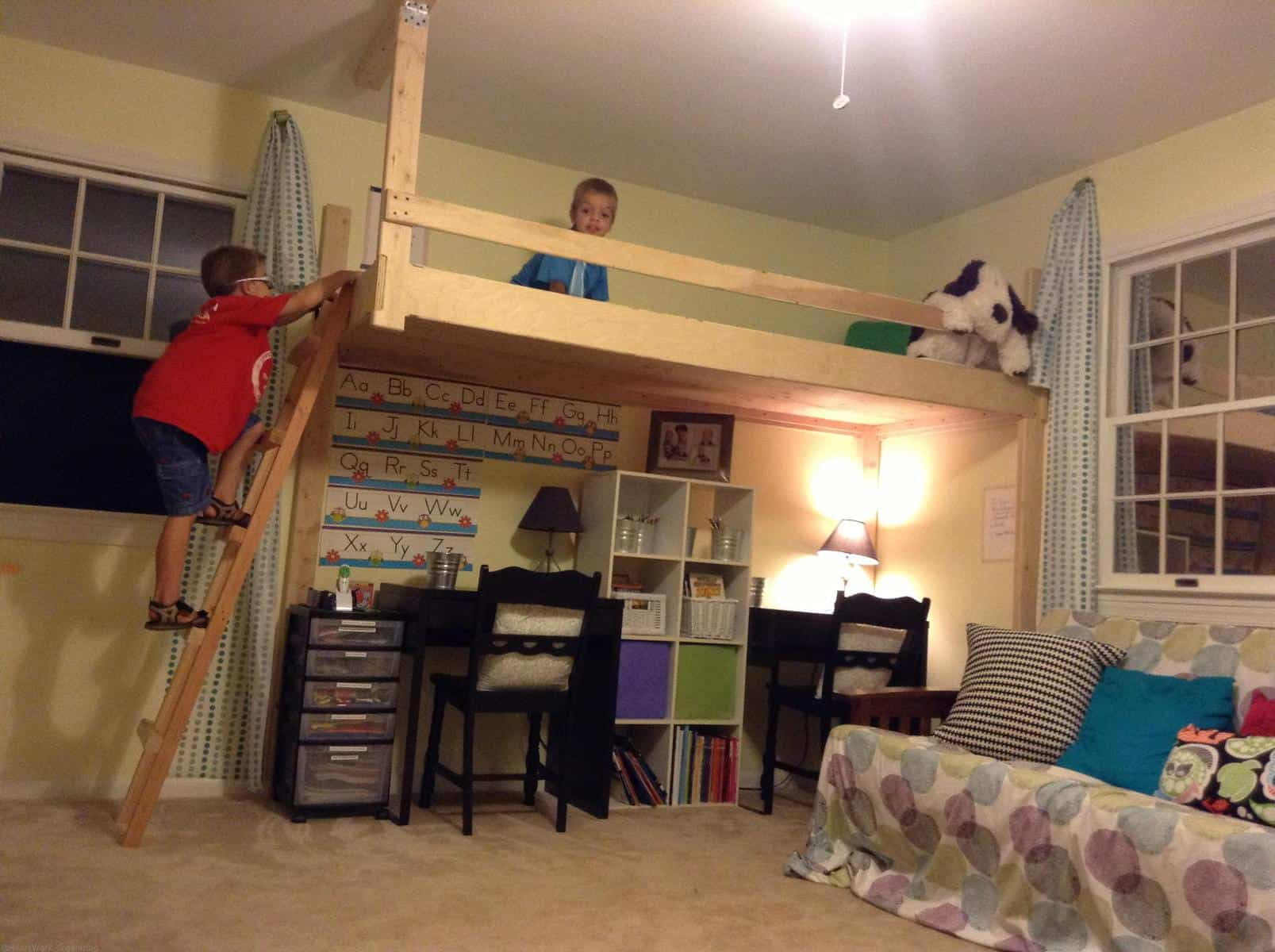 Meet Up In The Loft Home Office Amp Playroom Makeover