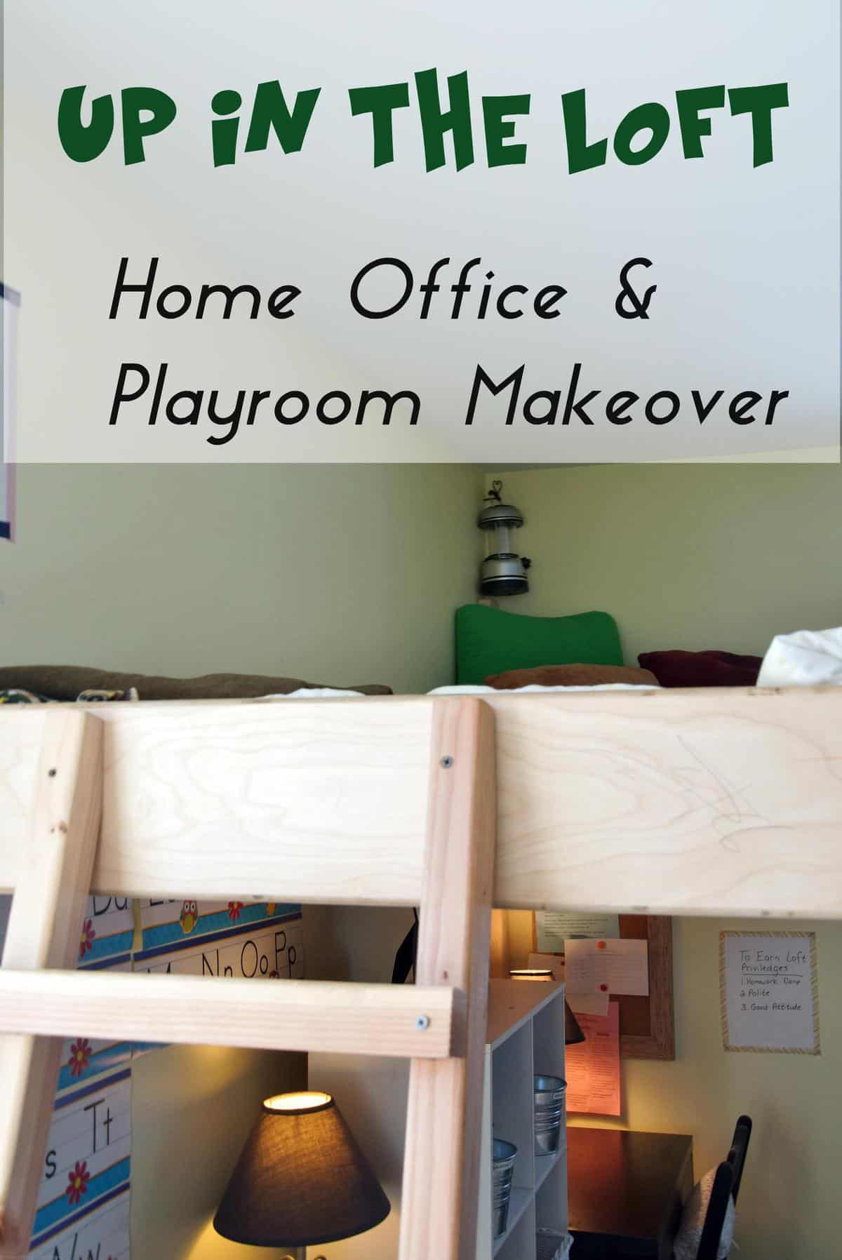 office and playroom. Meet Up In The Loft {Home Office \u0026 Playroom Makeover} And D