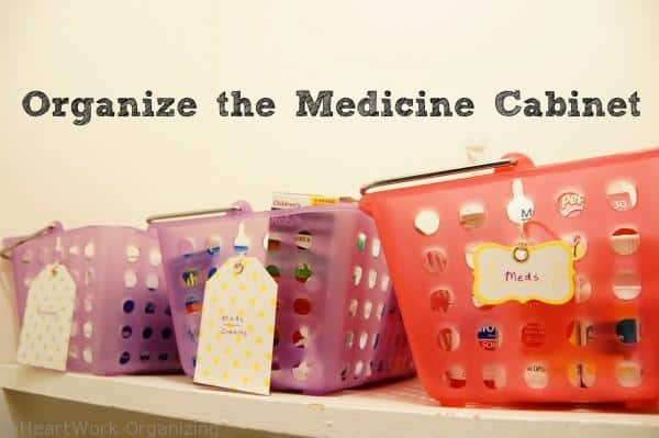How to organize the medicing cabinet