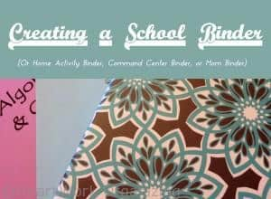 Read more about the article Creating a School Binder for Moms
