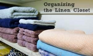 Read more about the article Organizing the Linen Closet