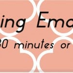 Organizing Email Better (In 30 Minutes or Less)