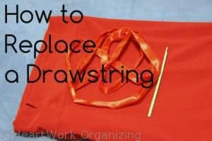 Read more about the article How to Replace a Drawstring