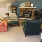 Another Family Room Makeover {One-Day Redesign}