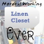 Hardest Working Linen Closet Ever