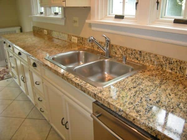 faug granite film on kitchen counter AFTER