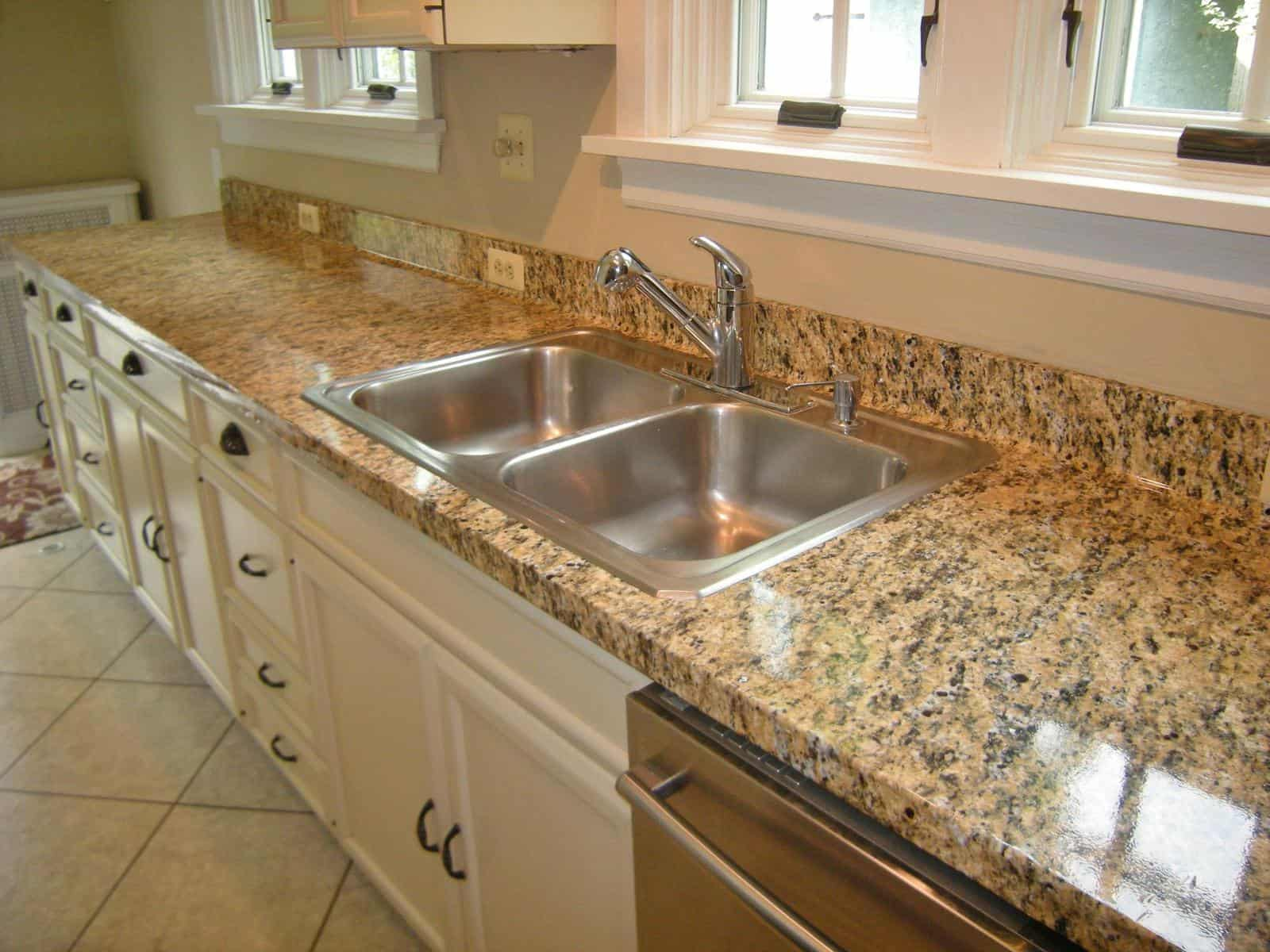 Genial Faug Granite Film On Kitchen Counter AFTER