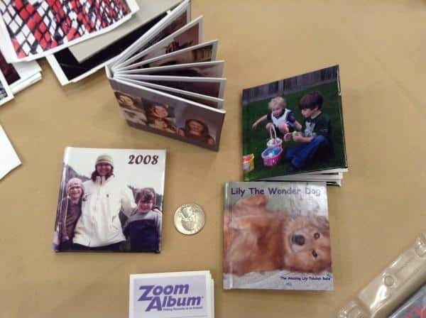 mini photo albums at APPO  conference